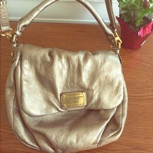 Marc Jacobs workwear gold Purse